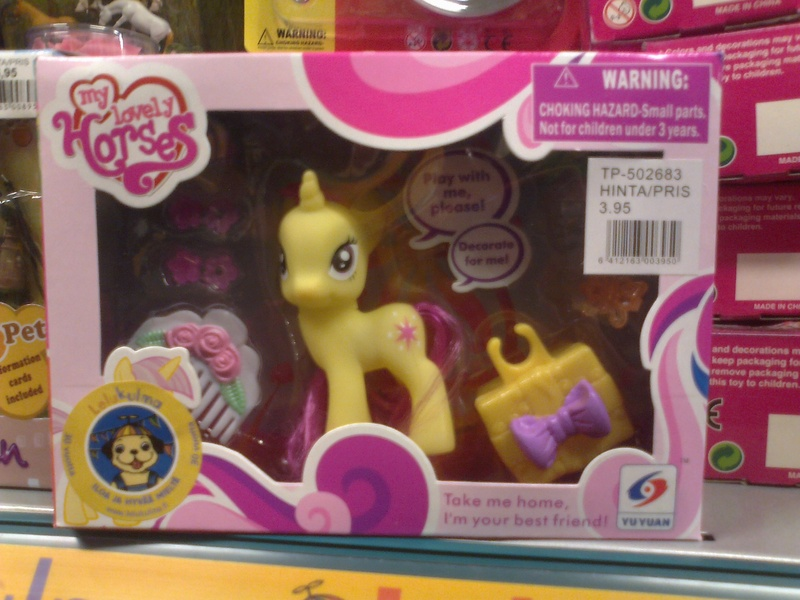 Size: 2048x1536   Tagged: bootleg, derpibooru import, finland, finnish, irl, my lovely horses, photo, recolor, safe, store, toy, wat