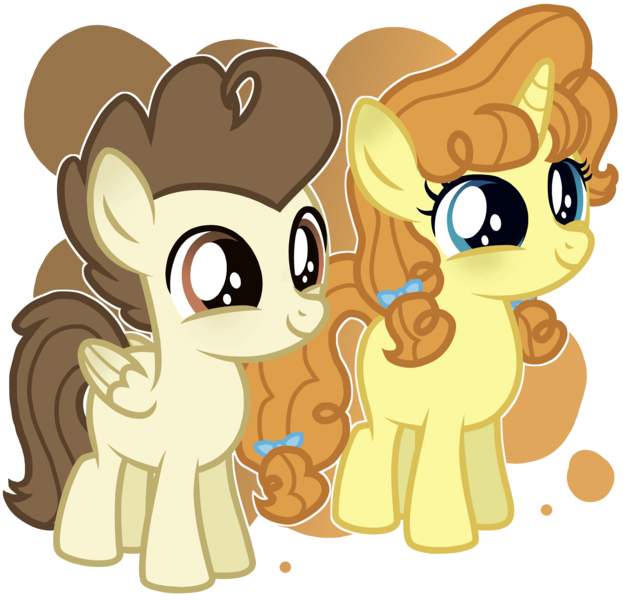 Size: 5768x5552   Tagged: safe, artist:brushprism, artist:magicalbases, derpibooru import, pound cake, pumpkin cake, pegasus, pony, unicorn, absurd resolution, base used, cake twins, colt, cute, duo, female, filly, image, male, medibang paint, png, poundabetes, pumpkinbetes, puppy dog eyes, siblings, simple background, transparent background, twins