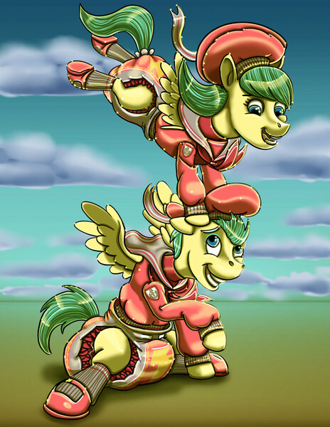 Size: 989x1280 | Tagged: safe, artist:randommutationromances, derpibooru import, barley barrel, pickle barrel, pegasus, pony, anchor, barleybetes, barrelbetes, barrel twins, beanie, blank flank, brother, brother and sister, closed mouth, clothes, cloud, colt, cute, day, diaper, diaper fetish, eyebrows, eyelashes, family, female, fetish, filly, flying, grass, grass field, happy, hat, hill, image, jacket, jpeg, lightning, looking, looking at each other, looking down, looking up, male, nostrils, open mouth, outdoors, outfit, picklebetes, sailor scout, sailor uniform, scarf, shoes, siblings, sister, sitting, sitting on grass, sitting on ground, sky, smiling, socks, spread wings, teeth, twins, uniform, wall of tags, wings
