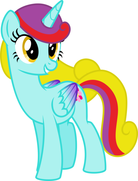 Size: 4000x5259 | Tagged: safe, artist:melisareb, derpibooru import, oc, oc:flower sunshine, unofficial characters only, alicorn, pony, absurd resolution, colored wings, female, gradient wings, image, mare, png, simple background, smiling, transparent background, vector, wings